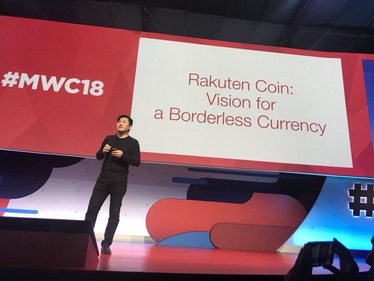 Rakuten makes blockchain announcement at MWC2018