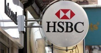 An HSBC sign.