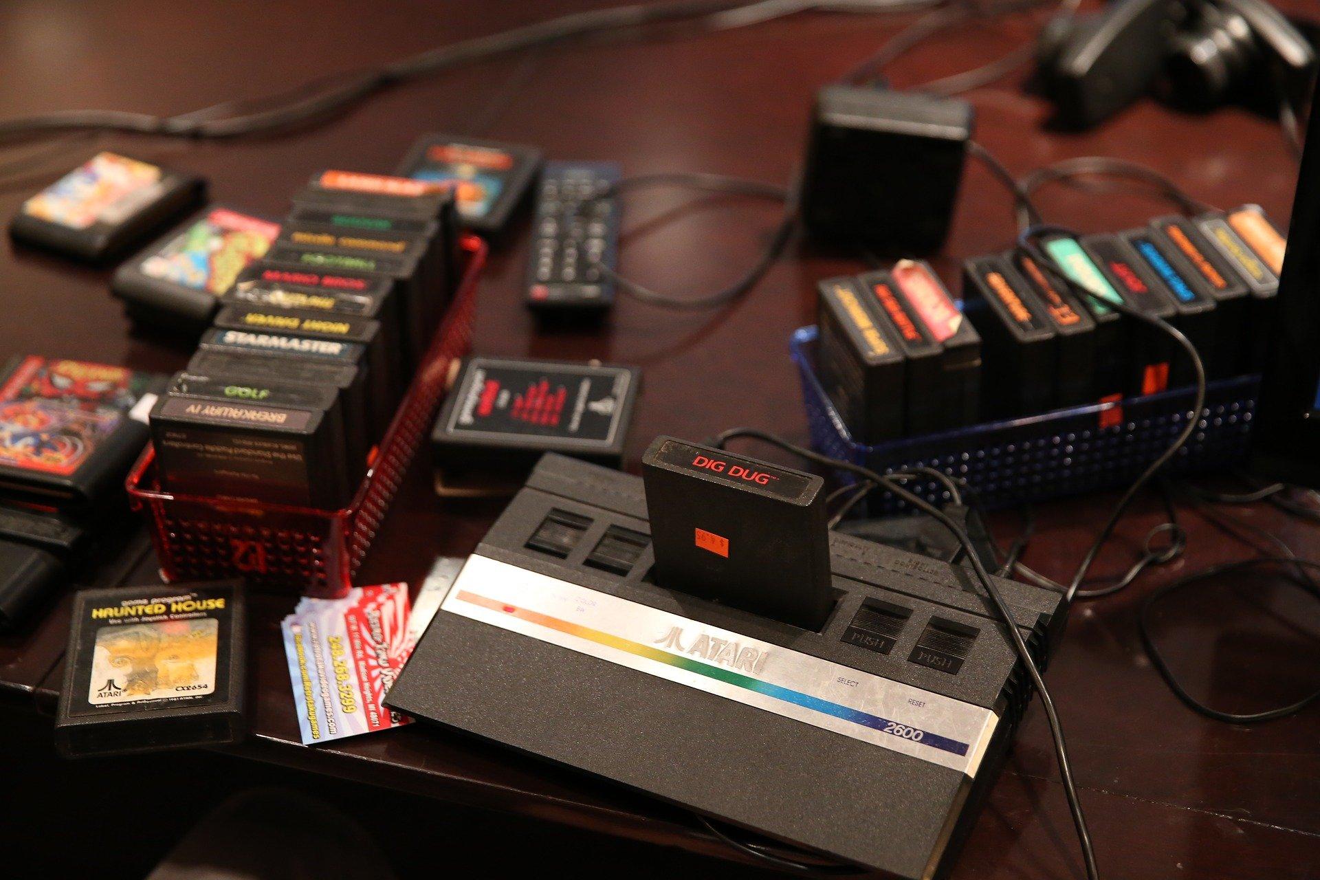 An Atari console