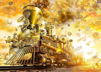 The Crypto Train artwork.