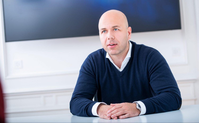Stijn Vander Straeten, CEO, Crypto Finance Infrastructure Services